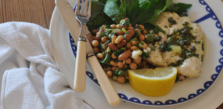 Irish Recipe Fish and Bean Salad Lilly Higggins