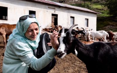 Syrian women food producers learn new skills from Italian farmers